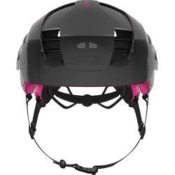 Fuchsia pink Montrailer cykelhjelm fra Abus