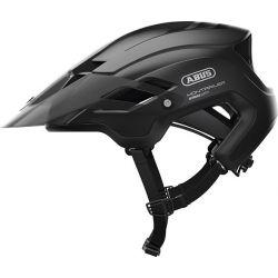 Velvet black Montrailer cykelhjelm fra Abus