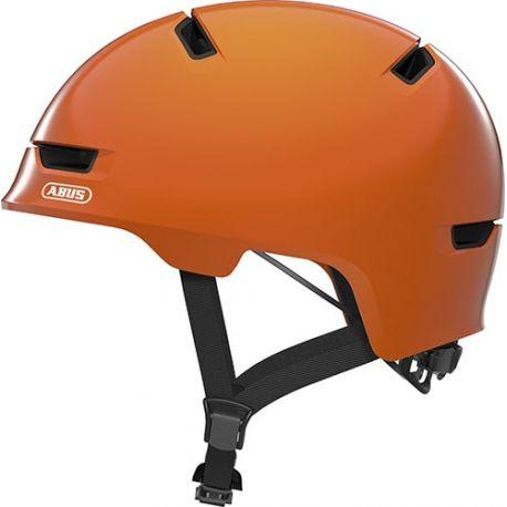 Cykelhjelm Shiny orange Scraper Kid 3.0 børnehjelm fra Abus
