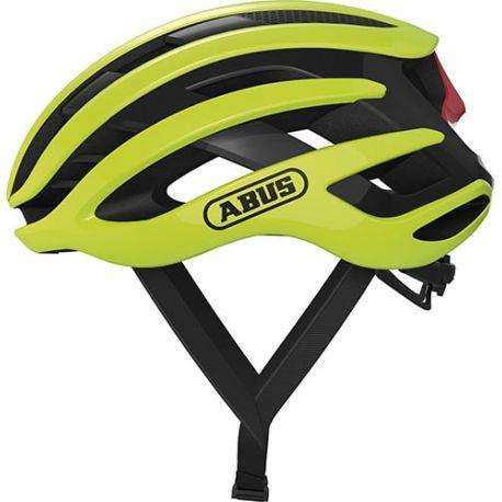 Cykelhjelm Neon Yellow Airbreaker cykelhjelm fra Abus