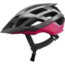 Fuchsia pink Moventor cykelhjelm fra Abus