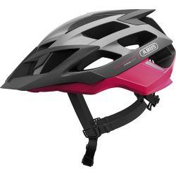 Fuchsia pink Moventor cykelhjelm fra Abus