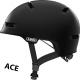 Velvet Black Scraper ACE 3.0 cykelhjelm fra abus