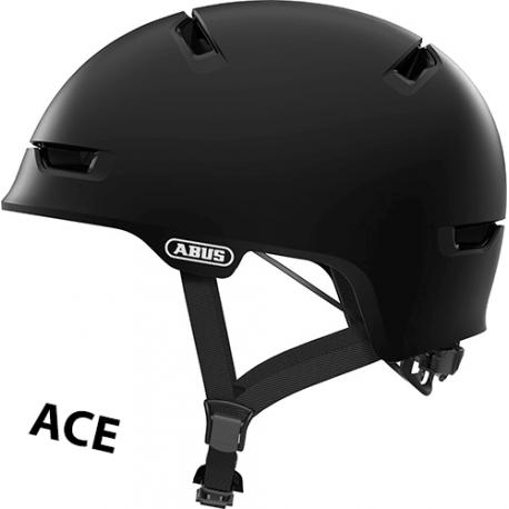 Cykelhjelm Velvet Black Scraper ACE 3.0 cykelhjelm fra abus