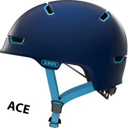 Abus Scraper 3.0 ACE cykelhjelm, Blå
