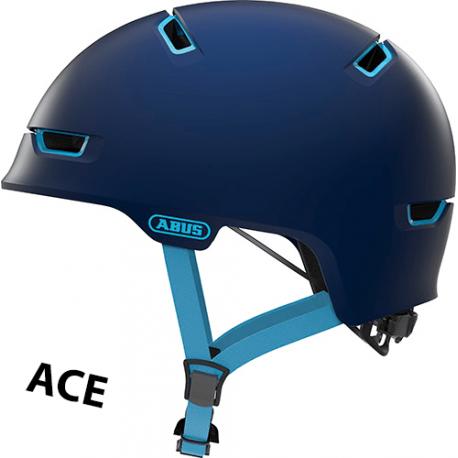 Cykelhjelm Ultra Blue Scraper ACE 3.0 cykelhjelm fra abus