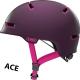 Magenta Berry Scraper ACE 3.0 cykelhjelm fra abus