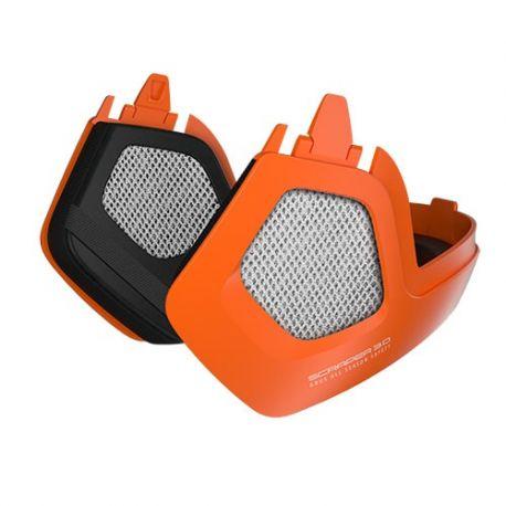 Cykelhjelm Abus Ørevarmere til Scraper 3.0 Ace og Era, Signal Orange