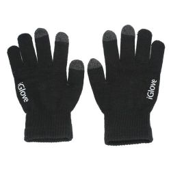 Sorte touch screen handsker
