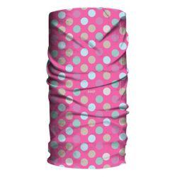Halsedisse til børn, polka pink