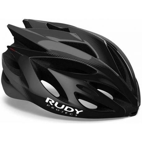 Cykelhjelm Rudy Project Rush, Shiny Black/Titanium