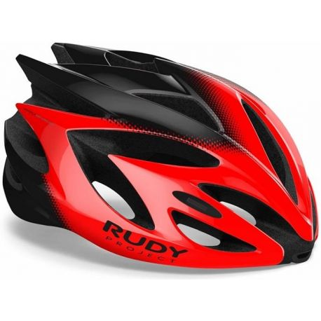 Cykelhjelm Rudy Project Rush, Shiny Red/Black
