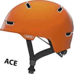 Signal Orange Scraper ACE 3.0 cykelhjelm fra abus
