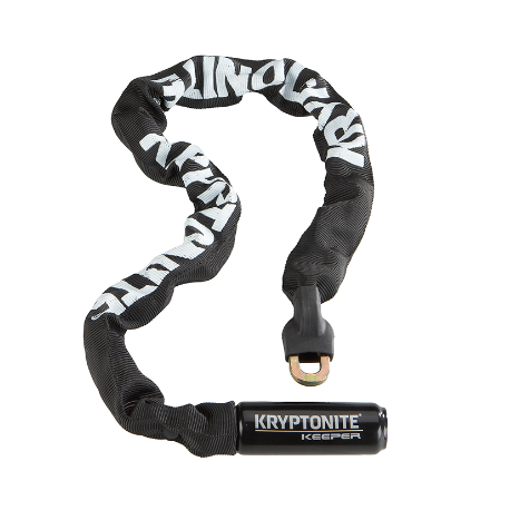 Cykelhjelm KryptoLok 785 kæde med integreret lås, 7mm x 85 cm