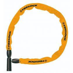 Image of   Orange Trelock BC115 kædelås m. nøgle