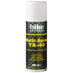 Bike Attitude TX-40 Multi smøremiddel - 200 ml