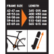 SKS VX 5 cykelpumpe - stelpumpe - 565-615 mm