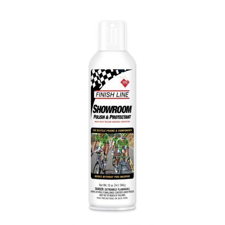 Cykelhjelm Finish line Showroom polering og beskyttelse til cykel - 355 ml