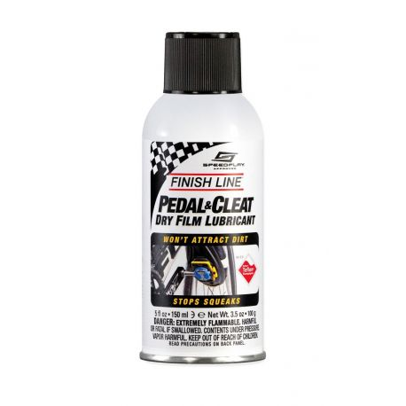 Cykelhjelm Finish line pedal & cleat spray til pedaler - 150 ml