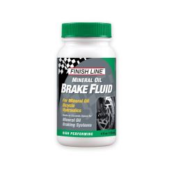 Finish line mineral brake fluid bremseolie - 120 ml