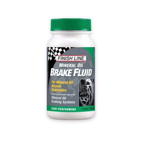 Cykelhjelm Finish line mineral brake fluid bremseolie - 120 ml