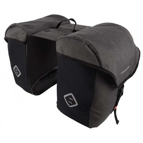Cykelhjelm Atran Velo Travel vandtæt bagagetaske AVS sort