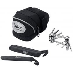 Bike Attitude sadeltaske. inkl miniværktøj og dækjern