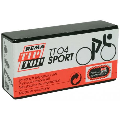 Cykelhjelm Rema Tip Top lappegrej sæt til racercykler
