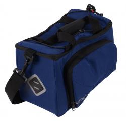 Atran Velo Zap Top bagagetaske til AVS bagagebærer, blå, vol. 10,5 L + 8 L