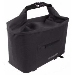 Atran Velo Travel top bagagetaske til AVS bagagebærer, grå/sort, vol. 10.5 L
