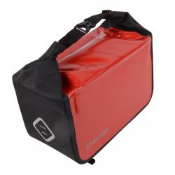 Atran Velo Travel top bagagetaske til AVS bagagebærer, rød/sort, vol. 10.5 L