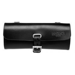 Brooks Challenge læder Sadeltaske, sort, 0.5 L