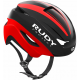 Rudy Project Volantis cykelhjelm, matt black/red