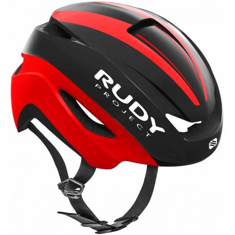 Rudy Project Volantis cykelhjelm, matt black/red | Hjelme