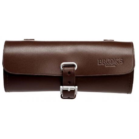 Cykelhjelm Brooks Challenge læder Sadeltaske, brun, 0.5 L