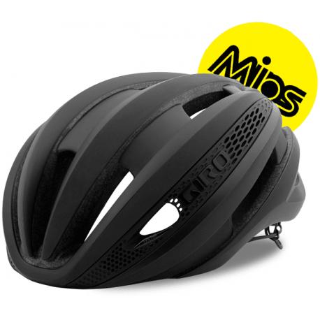 Cykelhjelm Giro Synthe Mips cykelhjelm, mat sort flash