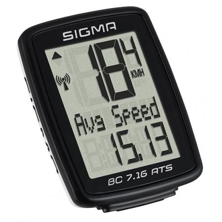 Sigma BC 7.16 ATS trådløs cykelcomputer   Cycle computers