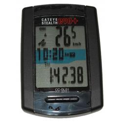 Cateye Stelth EVO+ gps CC-GL51 trådløs cykelcomputer, sort