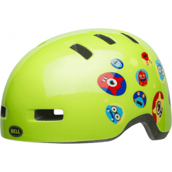Image of   Bell Lil Ripper Børn, Monster Gloss Green