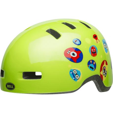 Cykelhjelm Bell Lil Ripper Børn, Monster Gloss Green