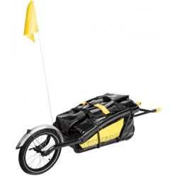 Image of   Topeak Cykeltrailer Journey TX og Drybag Thru Axle