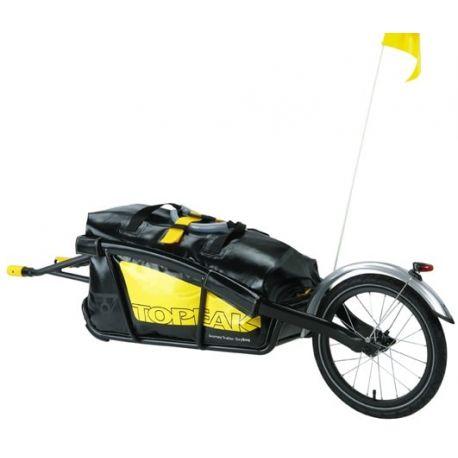 Cykelhjelm Topeak Cykeltrailer Journey Alu m/drybag