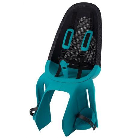 Qibbel Air cykelstol til bagagebærer montering, Turqoise | Bike seat
