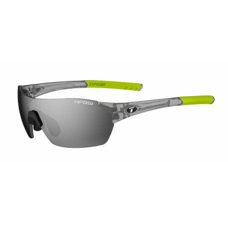 Cykelhjelm Tifosi Brixen cykelbrille med Smoke/red/clear linser