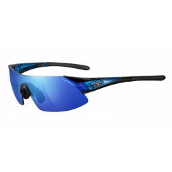 Tifosi Podium XC blå Clarion cykelbrille med blå/rød/klar linser