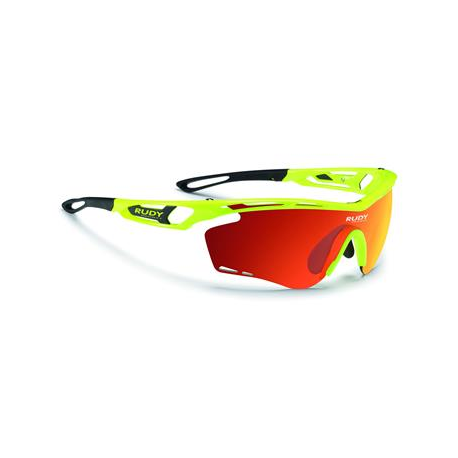 Cykelhjelm Rudy Project Tralyx cykelbrille, Fluo yellow
