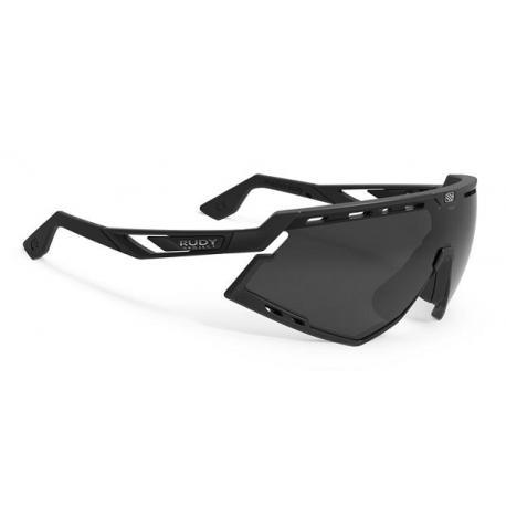 Cykelhjelm Rudy Project Defender cykelbrille, sort m. sort linse