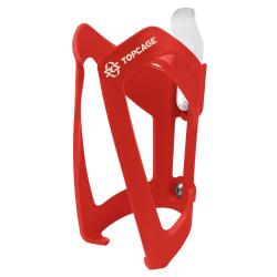SKS TopCage flaskeholder, rød plast