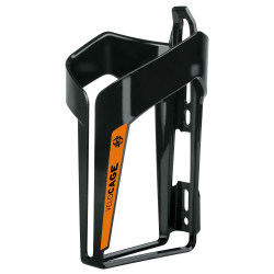 Sks Velocage flaskeholder, glossy sort/orange