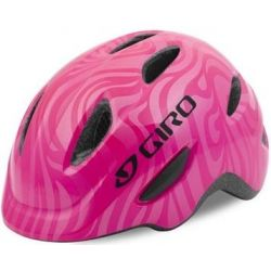 Image of   Pink Giro Scamp børnehjelm